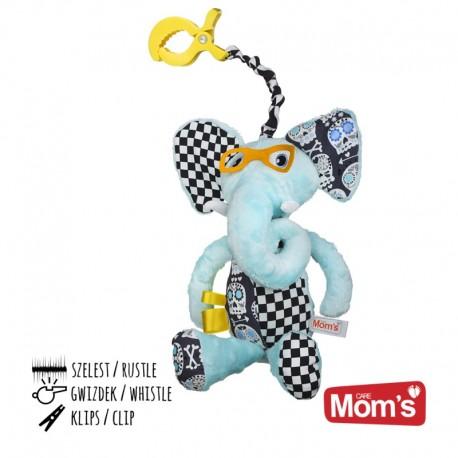 Przytulanka dla niemowląt ELEFANCIK Mom's Care