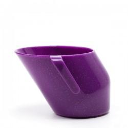 Kubek Doidy Cup od 3m+  Fioletowy brokat