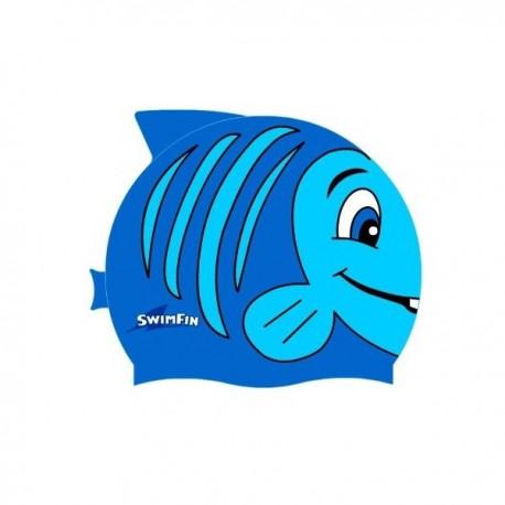 Czepek dla dziecka SwimFin Niebieski