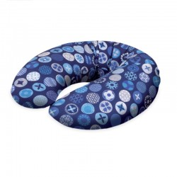 Poduszka do karmienia Kółka Niebieskie Ceba