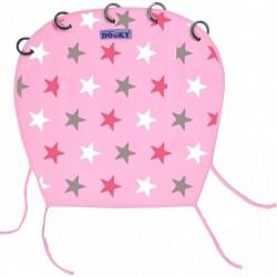 Osłonka do wózka i fotelika Dooky Design Baby Pink/Pink Stars