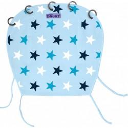 Osłonka do wózka i fotelika Dooky Design Baby Blue/Blue Stars