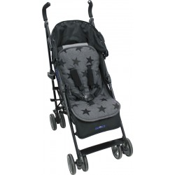Uniwersalna wkładka do wózka i fotelika Dooky Grey Stars