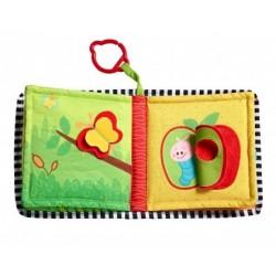 Książeczka dla niemowląt GDZIE MIESZKAM? Tiny Love