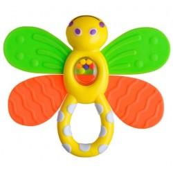 Gryzak motyl z grzechotką