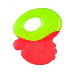Gryzak z grzechotką - Czerwono-zielony