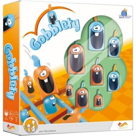 GOBBLETY Rodzinna gra planszowa 5 lat +