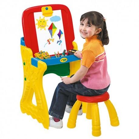 Stolik edukacyjny z krzesełkiem 2w1 PLAY'N FOLD Crayola