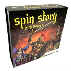 Gra edukacyjna SPIN STORY 6 lat +