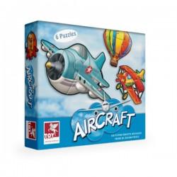 Puzzle STATKI POWIETRZNE 6 szt. Toy Kraft