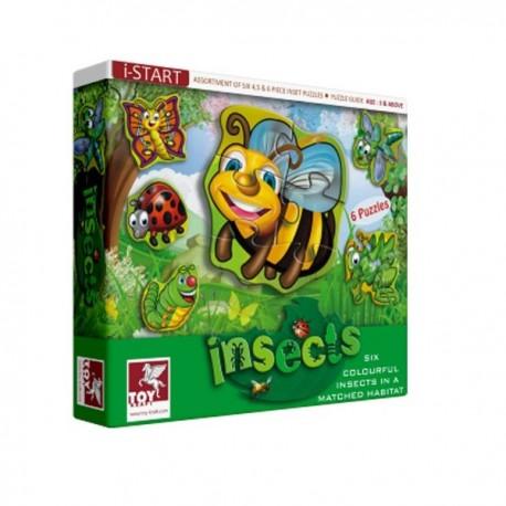 Puzzle OWADY 6 szt. Toy Kraft