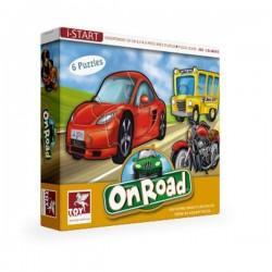 Puzzle POJAZDY 6 szt. Toy Kraft