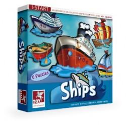Puzzle STATKI 6 szt. Toy Kraft