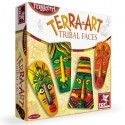 Zabawki kreatywne  TERRA ART TRIBAL FACES