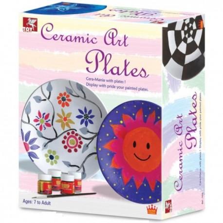 Zabawki kreatywne  CERAMICZNE TALERZE