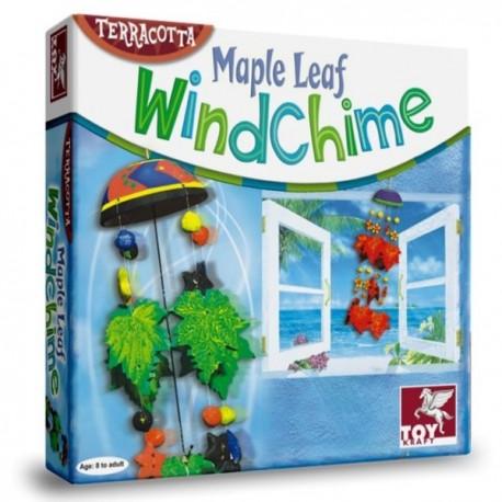 Zabawki kreatywne DZWONKI WIETRZNE LIŚCIE KLONU