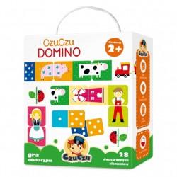 Gra edukacyjna DOMINO 2+ CzuCzu