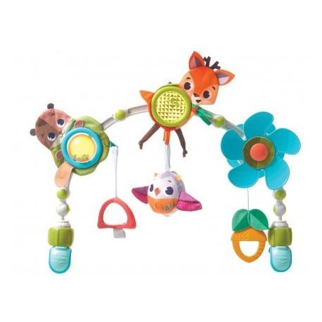 Łuk muzyczny z zabawkami - Leśna kraina Tiny Love