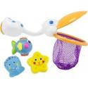 Zabawki do kąpieli PELIKAN I PRZYJACIELE Sassy
