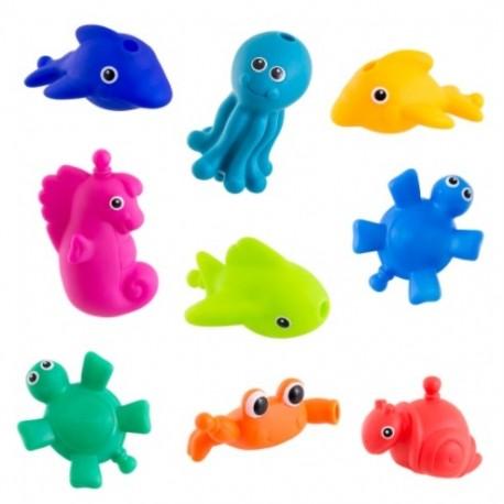 Zabawki do kąpieli MORSKIE STWORKI Sassy