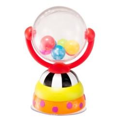Zabawka z przyssawką KRĘCĄCA KULA Sassy