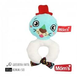 Grzechotka dla dziecka FOKA Mom's Care