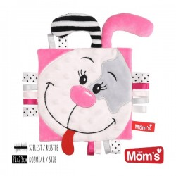 Milutka Przytulanka Szeleścik PINKY Mom's Care