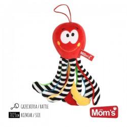 Mini Ośmiornica Czerwona Mom's Care
