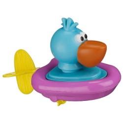 Pelikan w łódce Sassy