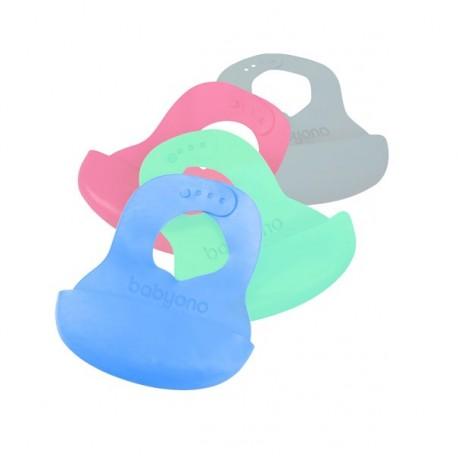 Śliniak super miękki - kolory BabyOno