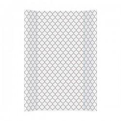Przewijak na łóżeczko 50x70cm Marokańska koniczyna czarno-biała