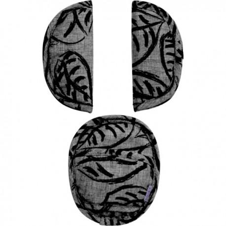 Uniwersalne nakładki na pasy Grey Leaves Dooky
