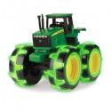 Traktor MONSTER świecące koła John Deere TOMY