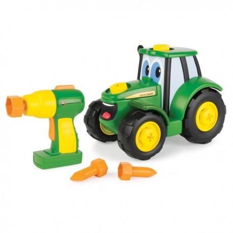 Zbuduj traktor Johnny John Deere TOMY