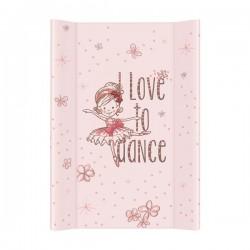 Przewijak na łóżeczko 50x70cm Tańcząca Baletnica Różowa