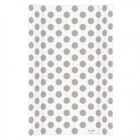 Przewijak na łóżeczko 50x80cm KROPKI czarno-białe