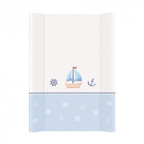 Przewijak na łóżeczko 50x70cm Marynarski Biało-niebieski Ceba