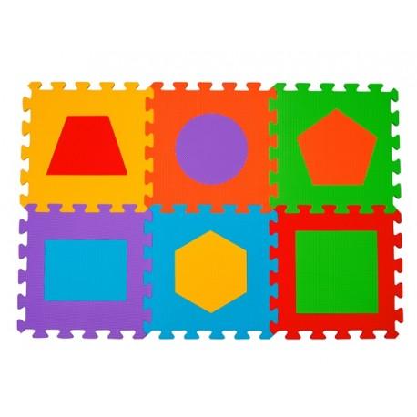 Puzzle piankowe 6szt. FIGURY BabyOno