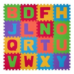 Puzzle piankowe 16szt. LITERY BabyOno