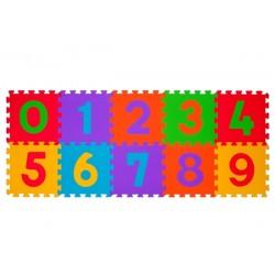 Puzzle piankowe 10szt. CYFRY BabyOno