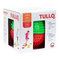 PÓŁKULE SENSORYCZNE do masażu 2szt. Tullo