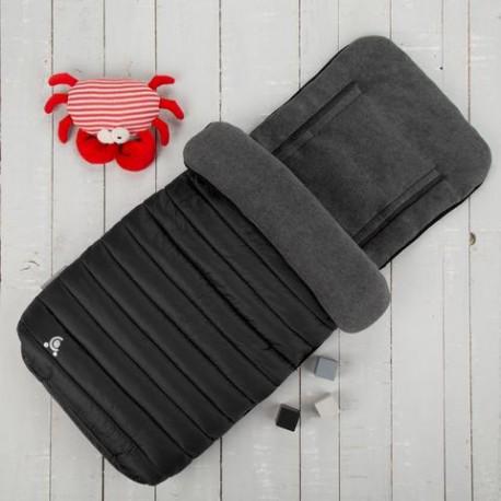 Śpiworek do wózka Comfi-Snug 2w1 czarny CuddleCo