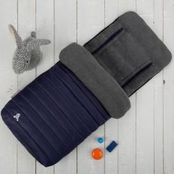 Śpiworek do wózka Comfi-Snug 2w1 granatowy CuddleCo