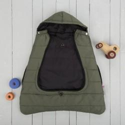 Śpiworek do nosidła/wózka 2w1 Comfi-Cape khaki CuddleCo