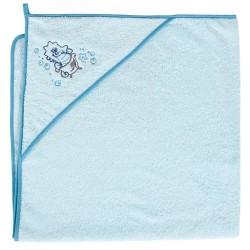 Ręcznik kąpielowy 100x100 KONIK MORSKI TURKUS Ceba
