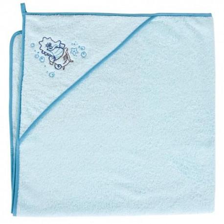 Ręcznik z kapturkiem KONIK MORSKI turkus Ceba
