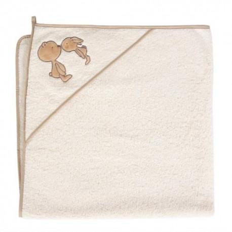 Ręcznik z kapturkiem NOSKI ECRU Ceba