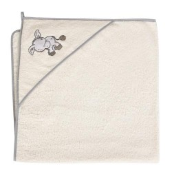 Ręcznik z kapturkiem OSIOŁEK ECRU Ceba