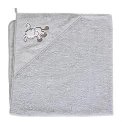 Ręcznik kąpielowy 100x100 OSIOŁEK SZARY Ceba