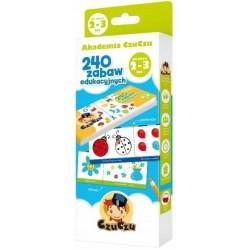 240 Zabaw Edukacyjnych 2-3 lata CzuCzu